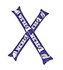24 Purple Team Spirit Boom Sticks #13704885