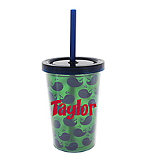 Kid's Whales 10 oz. Double Wall Tumbler with Straw #F137238