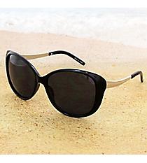 One Pair Black and Silver Retro Sunglasses #14F308r Retro Sunglasses #14F308