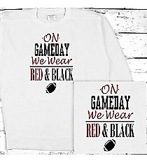 Gameday Comfort Colors Adult Crew-Neck Sweatshirt #1566 *Personalize Your Team Colors
