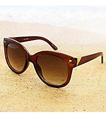 One Pair Amber Sunglasses #15F128