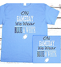 Gameday Comfort Colors Adult Ring-Spun Cotton Tee #1717 *Personalize Your Team Colors