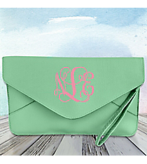 Mint Envelope Clutch Bag #SW180830
