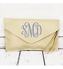 Cream Envelope Clutch Bag #181079