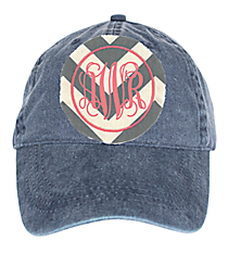Washed Navy Baseball Cap #18-202-004