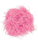 One Dozen Bags of Pink Easter Grass #37/1290