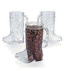 12 Cowboy Boot Mugs #2/1645