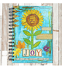 Sunflower 'Joy' Spiral Bound Journal #22191