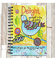 Psalm 37:4 'Delight Yourself in the Lord' Spiral Bound Journal #22193