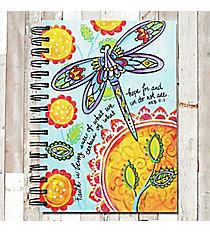 Hebrews 11:1 Dragonfly Spiral Bound Journal #22194