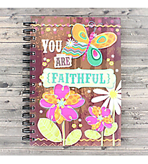 You Are Faithful Spiral Bound Journal #22225