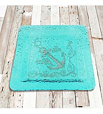 Hebrews 6:19 Anchor Large Square Platter #22996