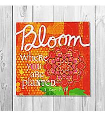 1 Corinthians 7:17 'Bloom' Canvas Magnet #23123