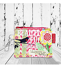 Psalm 139:14 'Beauti-Full Inside And Out' Coin Purse #23132