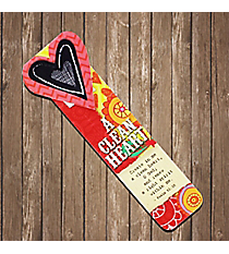 Psalm 51:10 'A Clean Heart' Magnetic Bookmark #23142