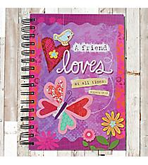 Proverbs 17:17 Springtime Spiral Bound Journal #23187