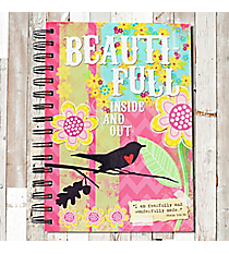 Psalm 139:14 'Beauti-Full Inside And Out' Spiral Bound Journal #23188