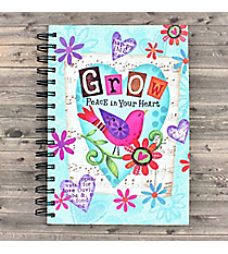 Grow Peace in Your Heart Spiral Bound Journal #23574
