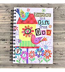 Every Day is a Gift From God Spiral Bound Journal #23575