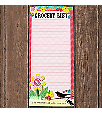 Psalm 139:14 'Grocery List' Magnetic Notepad #23610