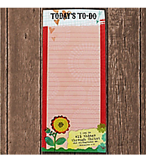 Philippians 4:13 'Today's To-Do' Magnetic Notepad #23611