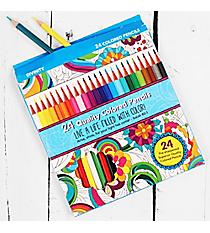 24 Colored Pencils #24063