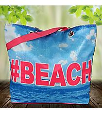 #Beach Sequin Tote #24115