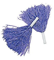 12 Purple Pom Poms #25/1538