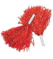 12 Red Pom Poms #25/1539