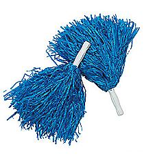 12 Blue Pom Poms #25/1545