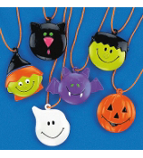 48 Halloween Character Necklaces #25/2401