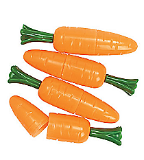 12 Carrot Candy Containers #26/1909