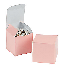 24 Mini Pink Gift Boxes #3/2610