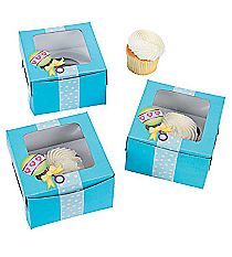 12 Baby Boy Shower Cupcake Boxes #3/2817