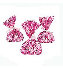 1 Dozen Pink Ribbon Bags #3/3174