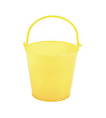 12 Bright Yellow Pails #3/3540