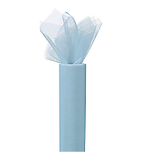 One Light Blue Tulle Roll #3/3951