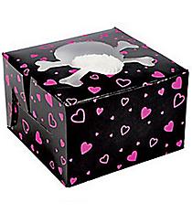 12 Pink Pirate Girl Cupcake Boxes #3/6348