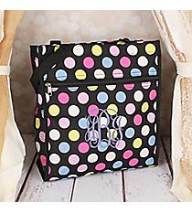 Multi-Dot Shopper Tote #PH3013-636