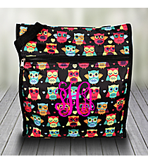 Neon Owls and Hearts Shopper Tote #PH3013-175