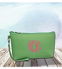 Mint Leather Wristlet #SW32500