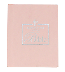 Pink Baby's First Bible #33949