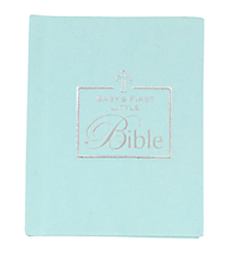 Blue Baby's First Bible #33956