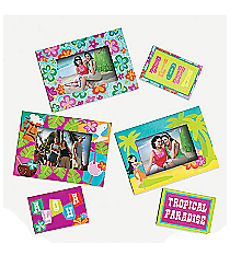 12 Tropical Picture Frame Magnets #34/1725