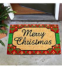 """""""Merry Christmas"""" Door Mat #35523"""