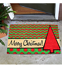 """Merry Christmas"" Door Mat #35524"