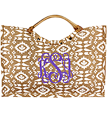 Natural Southwestern Jute Bag #36541-NATURAL