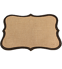 Frame Shaped Jute Placemat #36556