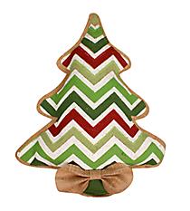 Burlap Christmas Tree Door Hanger #36827