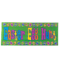 "One ""Easter Egg Hunt"" Banner #37/1022"